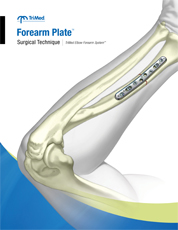 Forearm Plates surgical technique manual cover