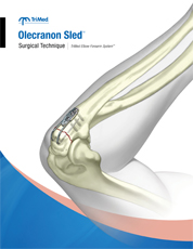 Olecranon Sled surgical technique manual cover